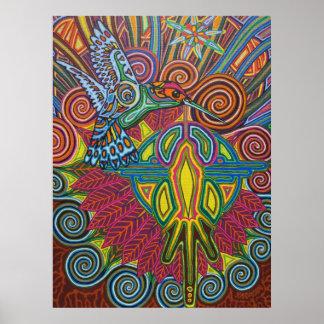 Kolibri - 2010 als Plakat/Leinwand