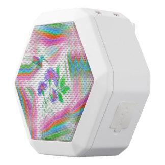 Kolibri-Flug-Kaleidoskop Weiße Bluetooth Lautsprecher