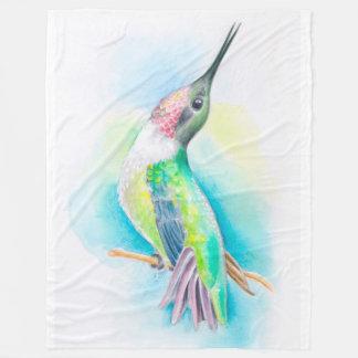 Kolibri-Gesang Fleecedecke