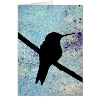 Kolibri, Gute Besserung Grußkarte