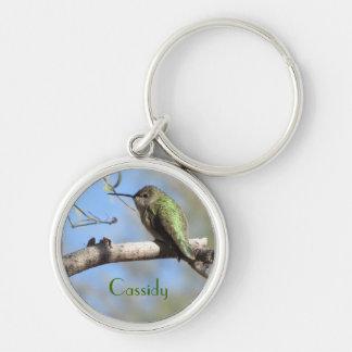 Kolibri Personalizable Keychain Schlüsselanhänger