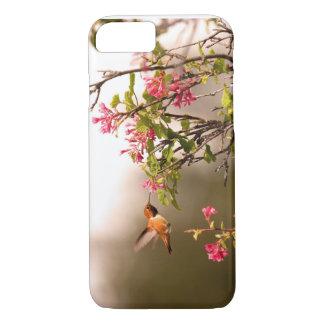 Kolibri und Blumen iPhone 7 Hülle