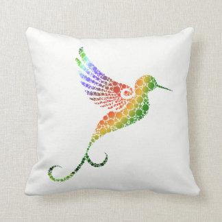 Kolibri-Wurfs-Kissen Kissen