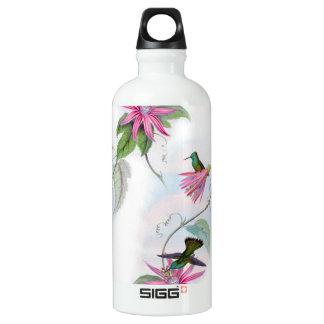 Kolibrimuster Wasserflasche