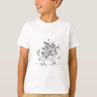 Kolibris und Schmetterlinge T-Shirt