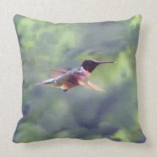 Kolibrithrow-Kissen-Vorlagen-Foto Kissen