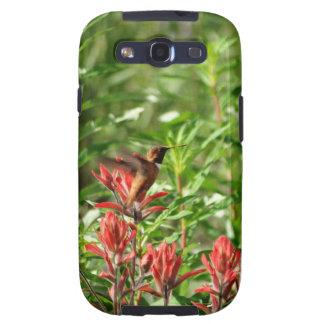 Kolibrivogel-Rot-Blume Samsung Galaxy S3 Etuis