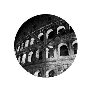 Kolosseum Colosseum Roms Rom Italien Runde Wanduhr