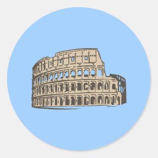 Kolosseum Colosseum Runder Aufkleber