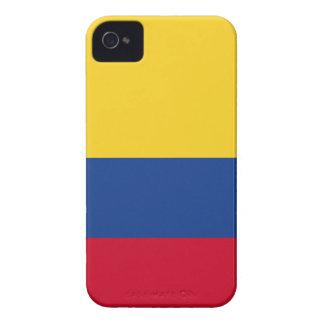 Kolumbianische Flagge iPhone 4 Hüllen