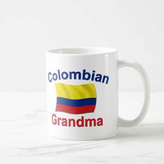 Kolumbianische Großmutter Kaffeetasse
