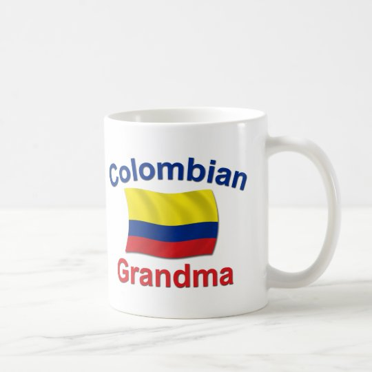 Kolumbianische Großmutter Tasse