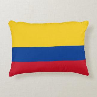 Kolumbianisches Tricolor Kissen Flagge Bandera Des
