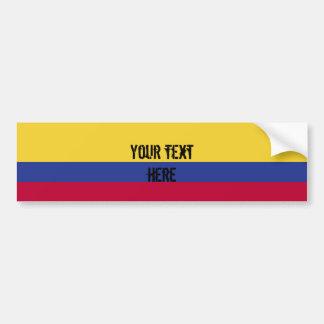 Kolumbien-Flagge Autoaufkleber
