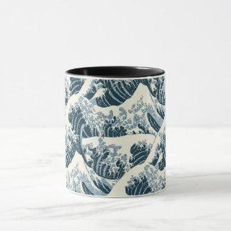 Kombinierte Tasse - Hokusais die Welle