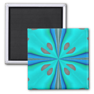 Komfort-Blumen-Magnet Quadratischer Magnet