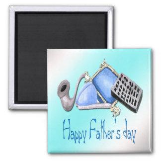 Komfort des Zuhause - glücklicher der Vatertags-Ma Magnete
