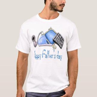 Komfort des Zuhause - glückliches der T-Shirt