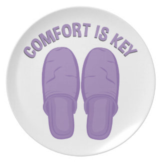 Komfort ist Schlüssel Melaminteller