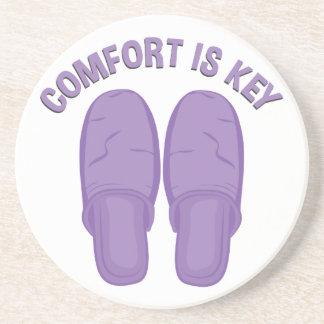 Komfort ist Schlüssel Untersetzer