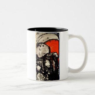 Komfort-Tasse Zweifarbige Tasse