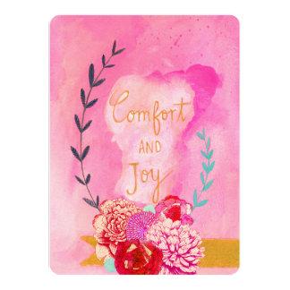 Komfort- und Freudefeiertagskarte 14 X 19,5 Cm Einladungskarte