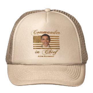 Kommandant - herein - Leiter, Barack Obama Kult Mützen