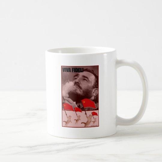 Kommunistische Kätzchen Kaffeetasse