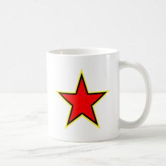 Kommunistischer roter Stern Tasse