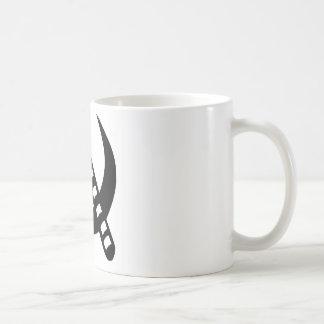 Kommunistischer Stock Kaffeetasse
