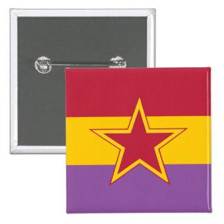 Kommunistisches Party von Spanien, Kolumbien polit Anstecknadel