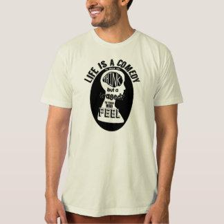 Komödie gegen Tragödie T-Shirt