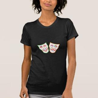 Komödien-Tragödie-Masken T-Shirt