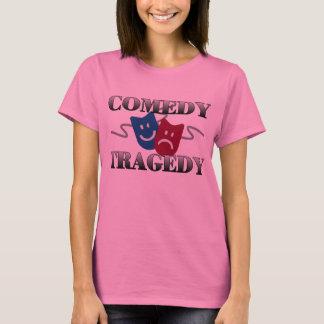 Komödien-Tragödie-T-Shirt T-Shirt
