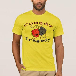 Komödien-Tragödie-Theater-Masken T-Shirt
