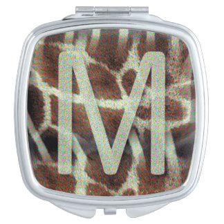 Kompakter Spiegel des Monogramm-M Taschenspiegel