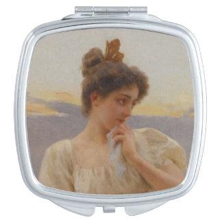 Kompakter Spiegel Schminkspiegel