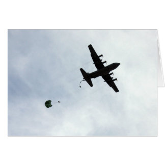 Kompass-Anruf des Fallschirm-Tropfen-EC-130H Karte