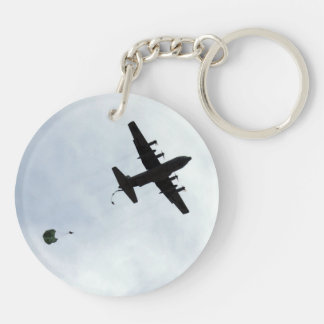 Kompass-Anruf des Fallschirm-Tropfen-EC-130H Schlüsselanhänger