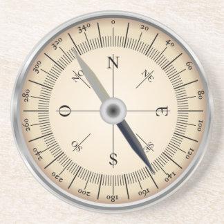 Kompass-Entwurf Getränkeuntersetzer