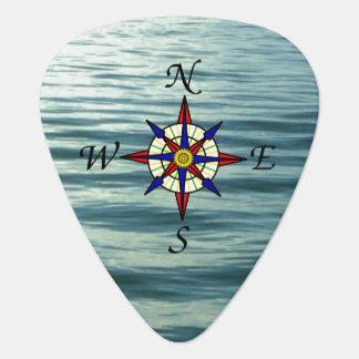 Kompass-Rose 2 Plektrum