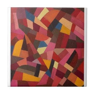 Komposition durch Otto Freundlich Kleine Quadratische Fliese
