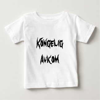 Kongelig Avkom, königliche Nachkommenschaft auf Baby T-shirt