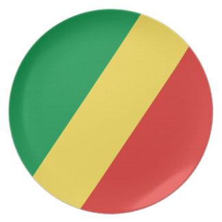Kongo- - Kongoflagge Essteller