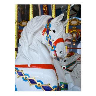 König Arthurs Carousel Horse Postkarte