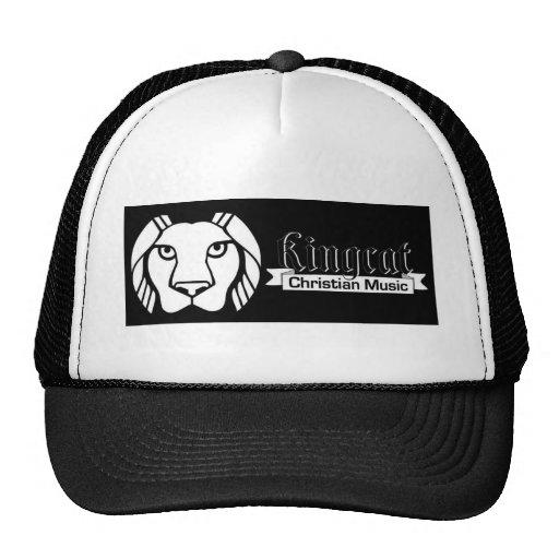 König Cat Music Logo Tees und Material Retrokultmütze