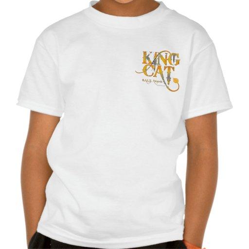 König Cat Music Logo Tees und Material Shirt