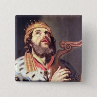 König David (Platte) Quadratischer Button 5,1 Cm