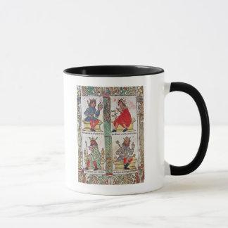König David, Solomon, Luba und Turnis Tasse