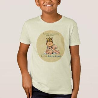 König der Zwillinge - großer Bruder-T - Shirt